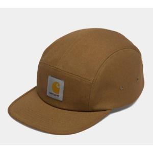 CARHARTT WIP BACKLEY 5 PANEL HAT HAMILTON BROWN
